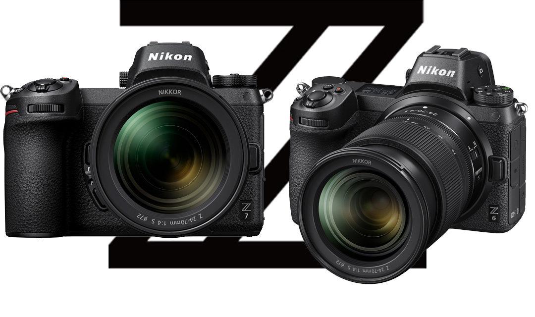 Nikon Z7 and Z6 Mirrorless Cameras