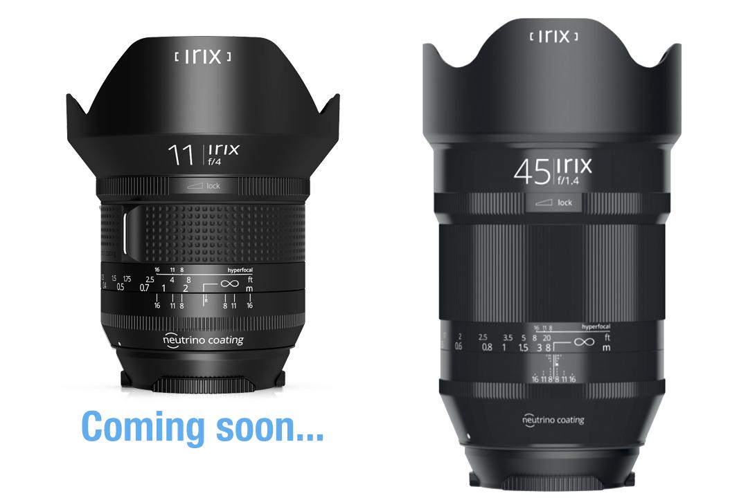 IRIX 11mm / IRIX 45mm